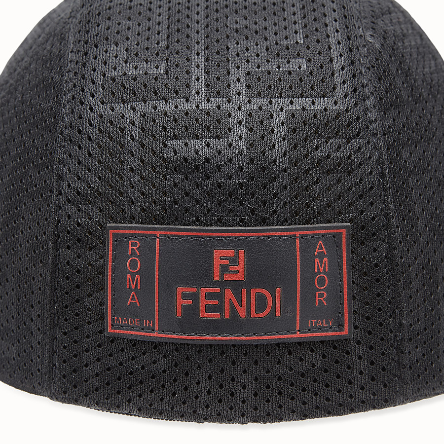 FENDI HAT - Black mesh hat - view 2 detail