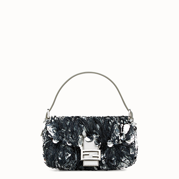 FENDI BAGUETTE - shoulder bag with large sequins - view 1 small thumbnail
