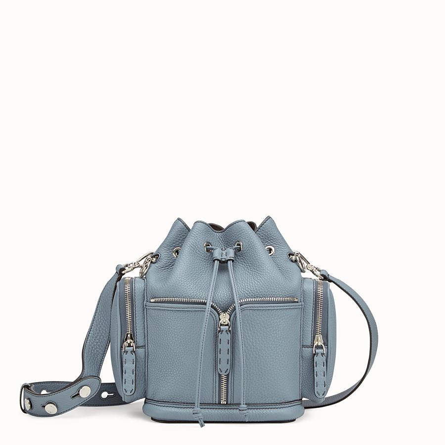 1d4708308eb5 Beige leather bag - MON TRESOR