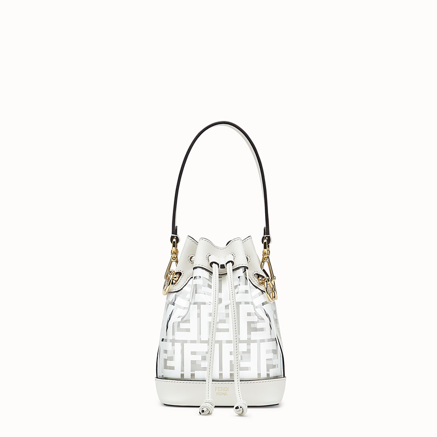 FENDI MON TRESOR - Transparent canvas mini-bag - view 1 detail