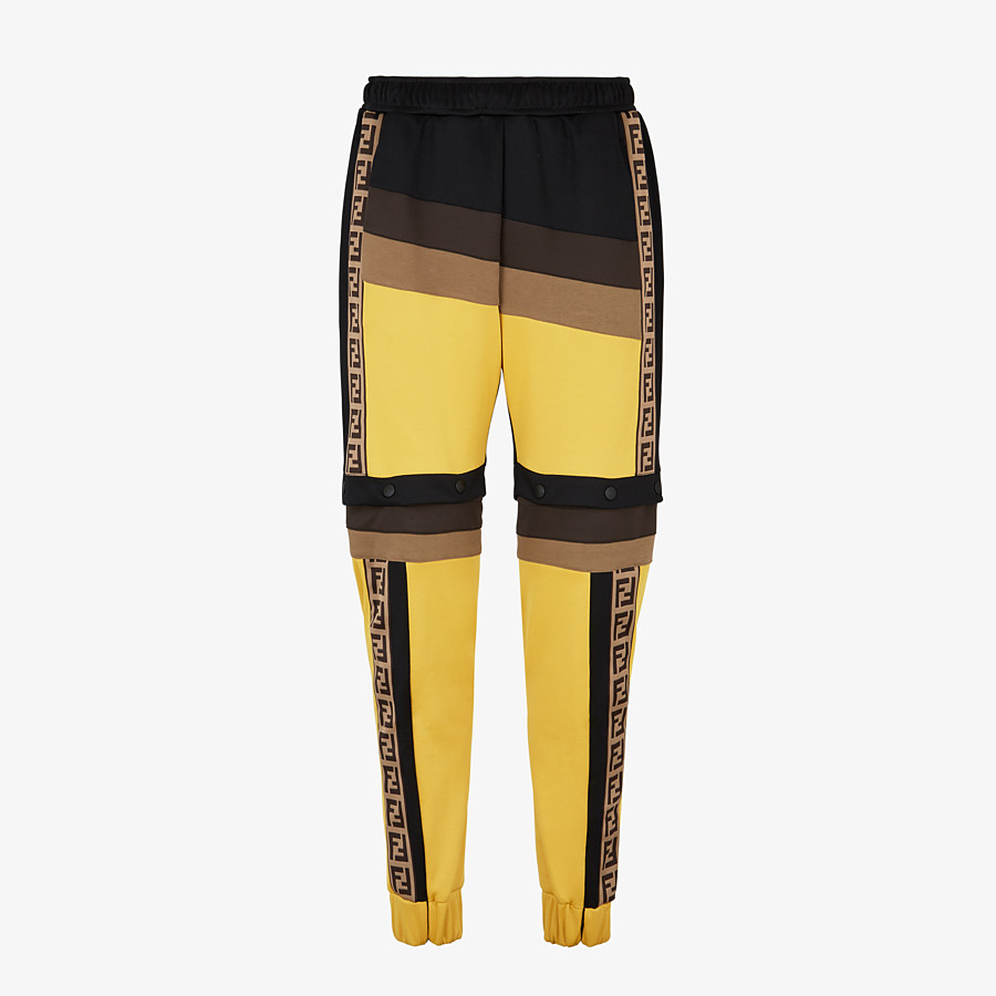FENDI PANTS - Multicolor acetate pants - view 1 detail