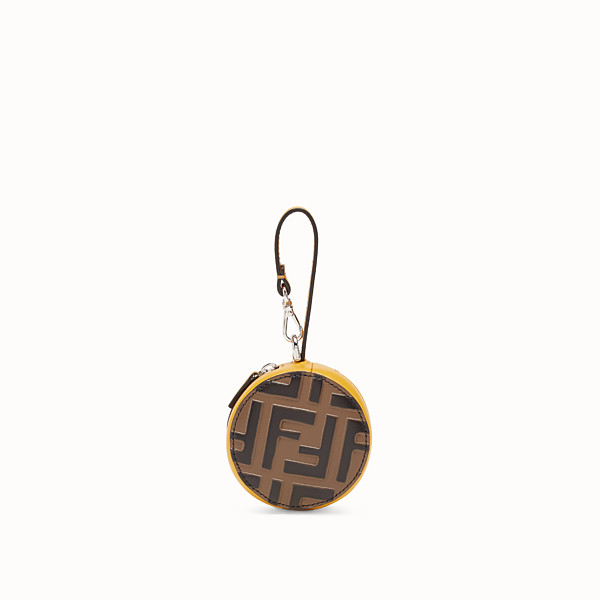 FENDI BACKPACK CHARM - Yellow leather charm - view 1 small thumbnail