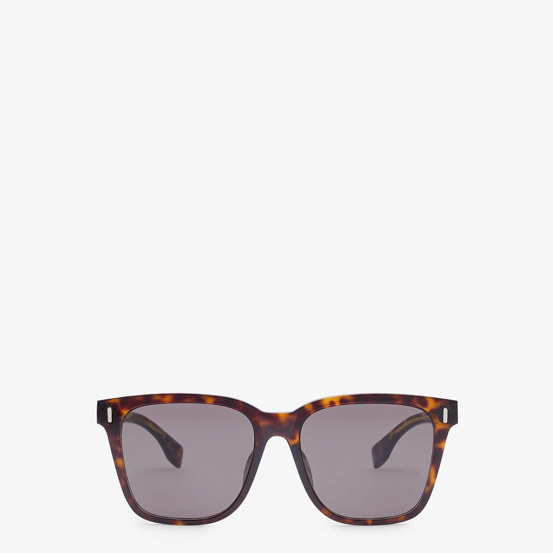 FENDI FENDI - Havana sunglasses - view 1 detail