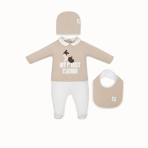 FENDI BABY'S KIT - Multicolour cotton baby kit - view 1 small thumbnail