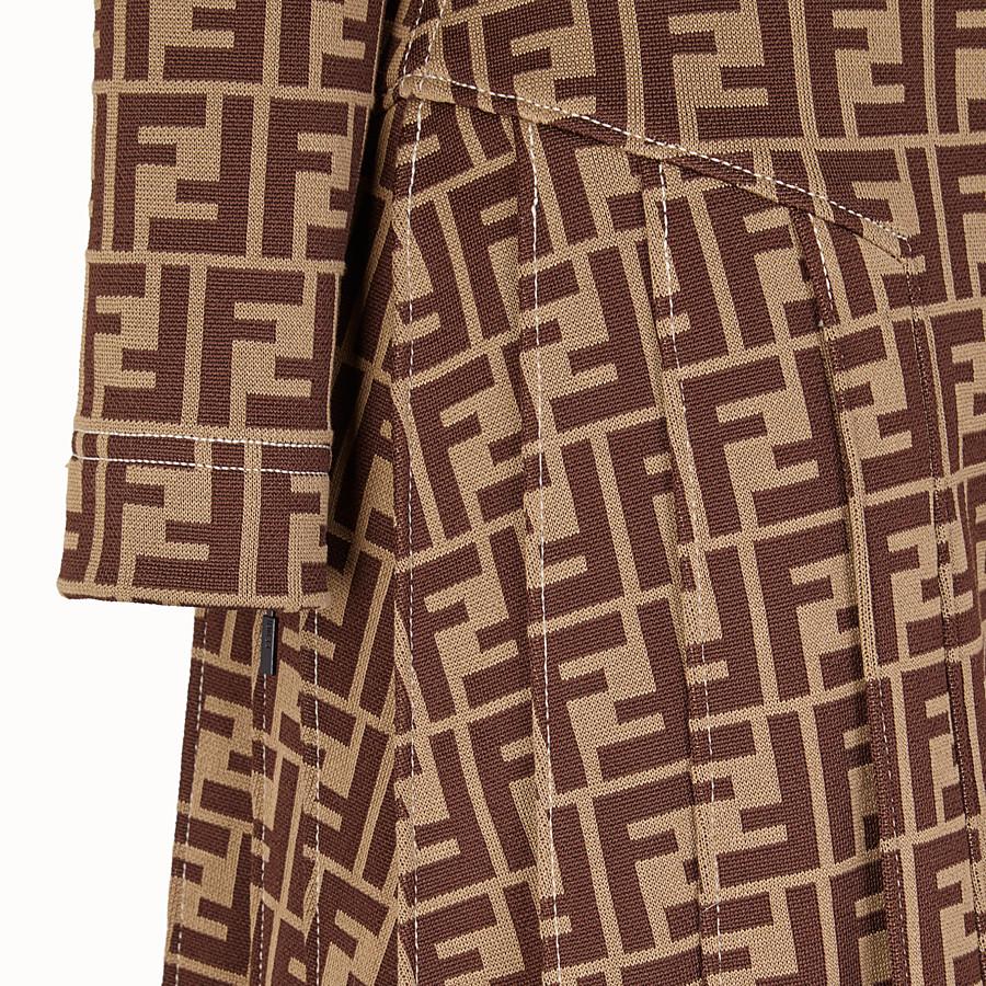 FENDI 드레스 - 멀티 컬러의 저지 드레스 - view 3 detail