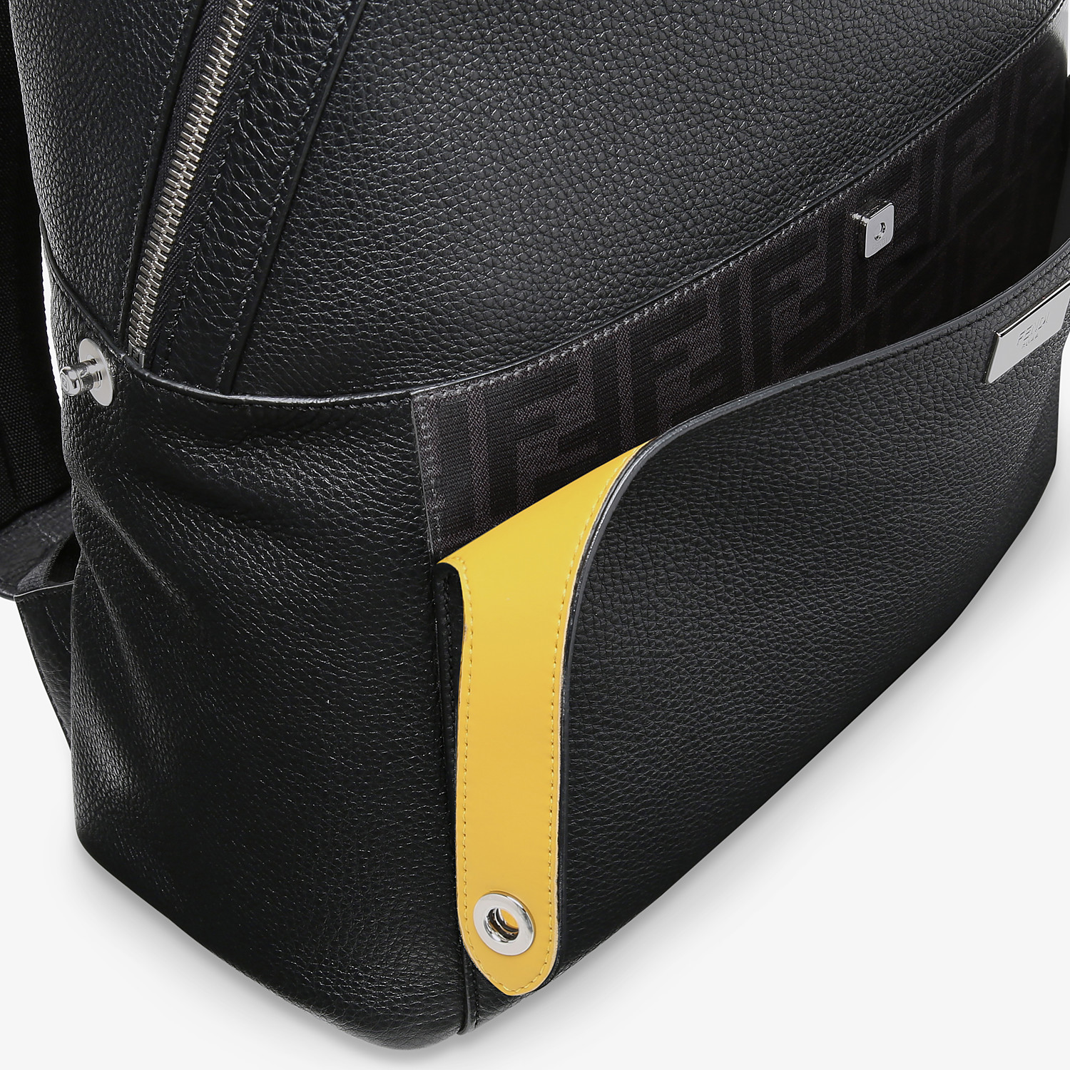 FENDI PEEKABOO BACKPACK - Black leather backpack - view 5 detail