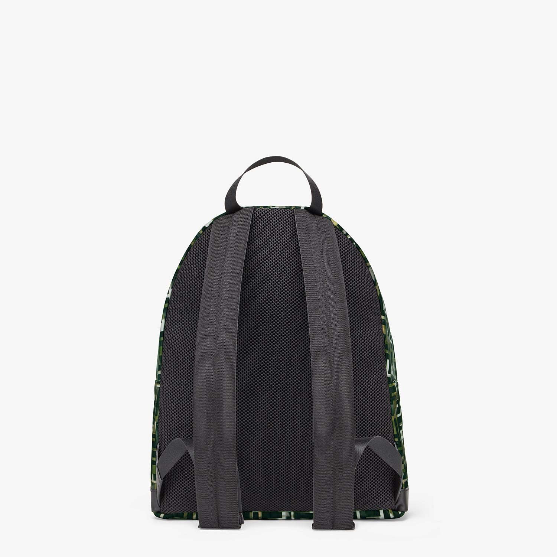 FENDI BACKPACK - Multicolor nylon backpack - view 3 detail