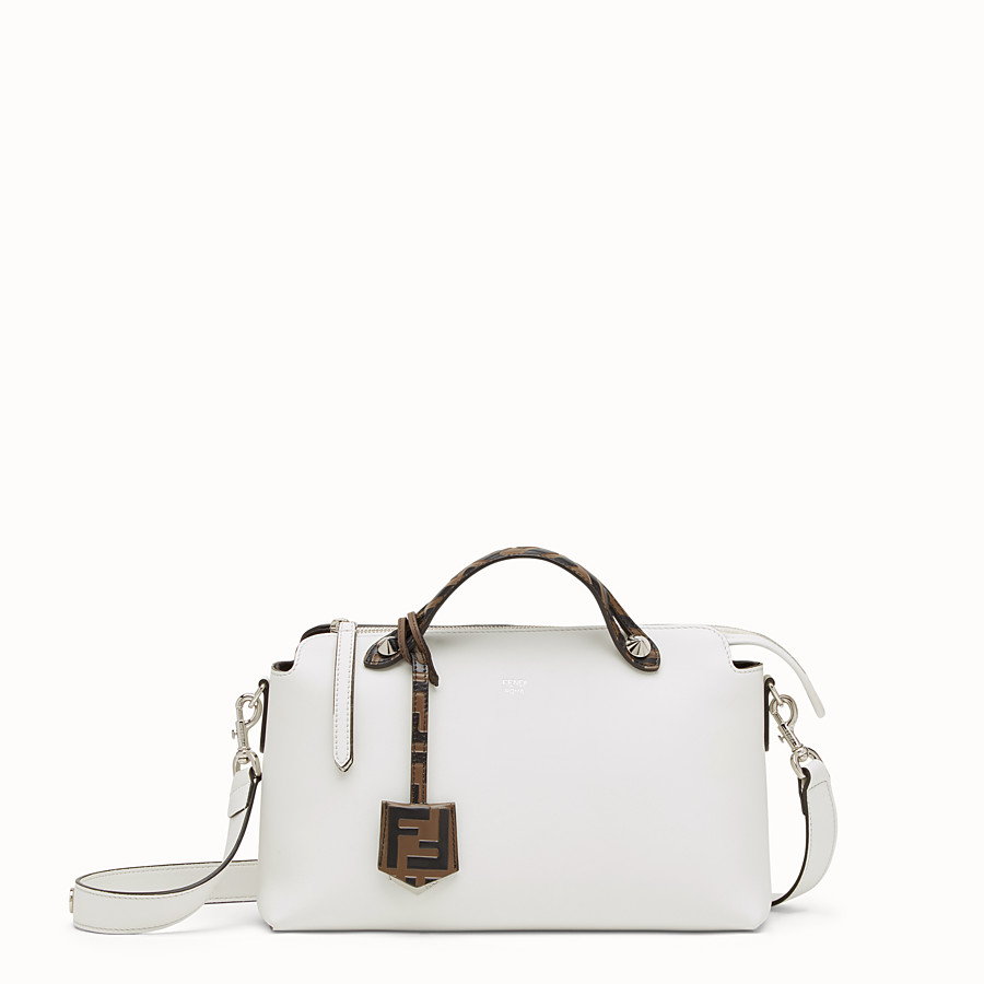 White leather Boston bag - BY THE WAY REGULAR  ec42ae8a6c406