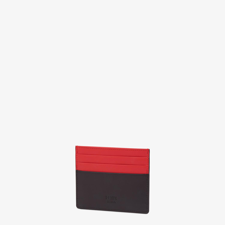 FENDI CARD HOLDER - Multicolor card case - view 2 detail