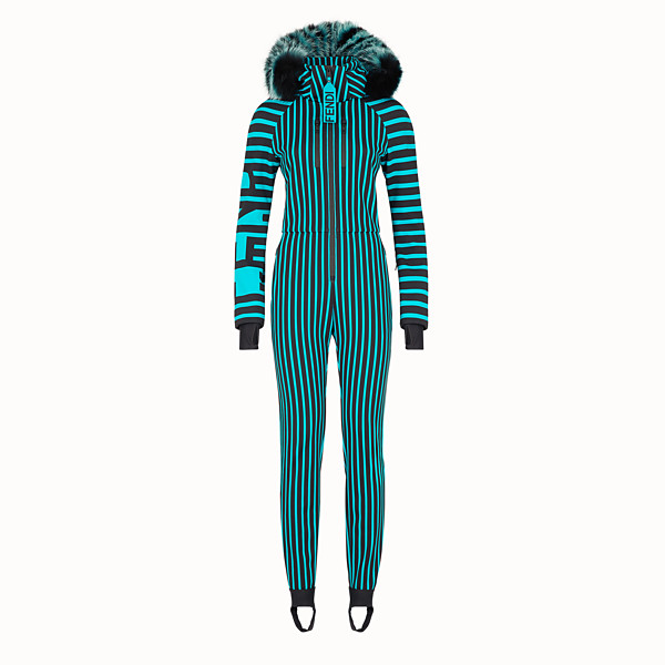FENDI SKI SUIT - Multicolour tech fabric ski suit - view 1 small thumbnail