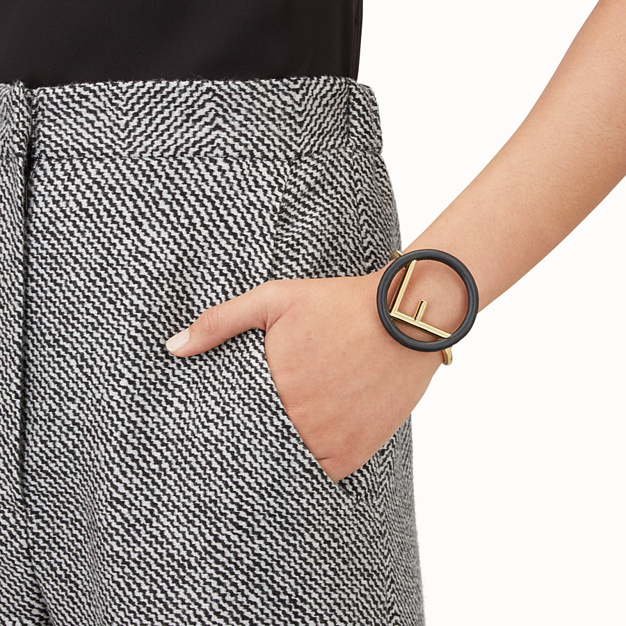 FENDI F IS FENDI手環 - 黑色和金色手環 - view 2 detail