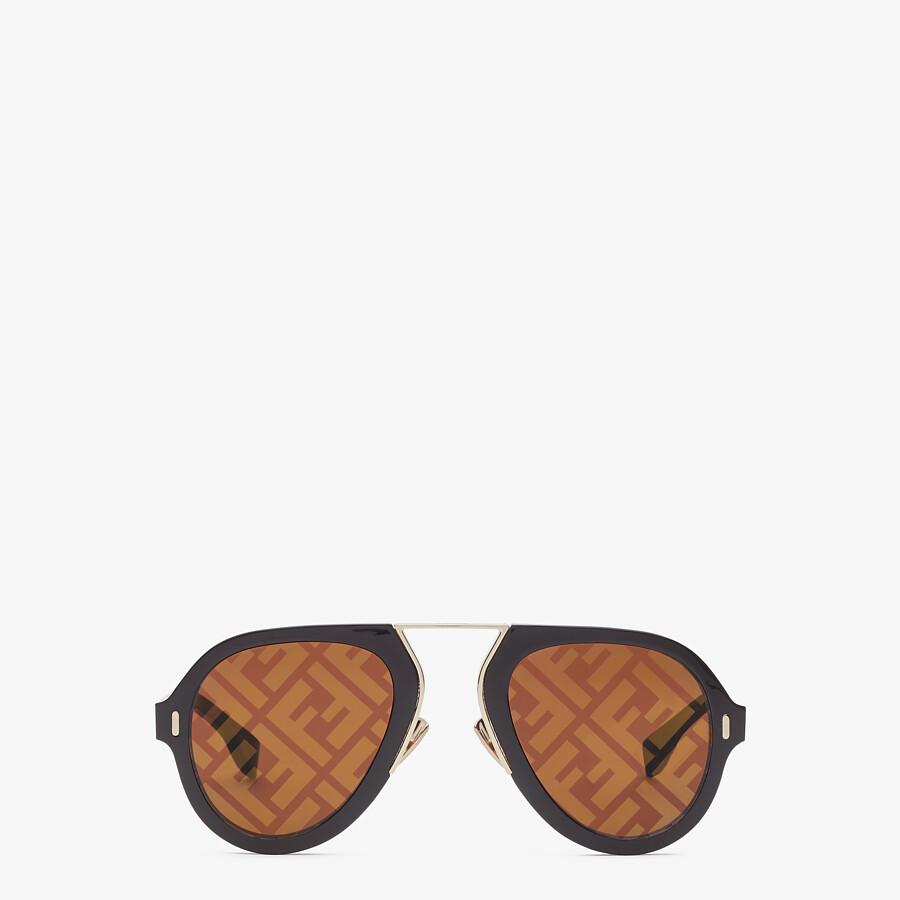 FENDI FENDI FORCE - Black sunglasses - view 1 detail