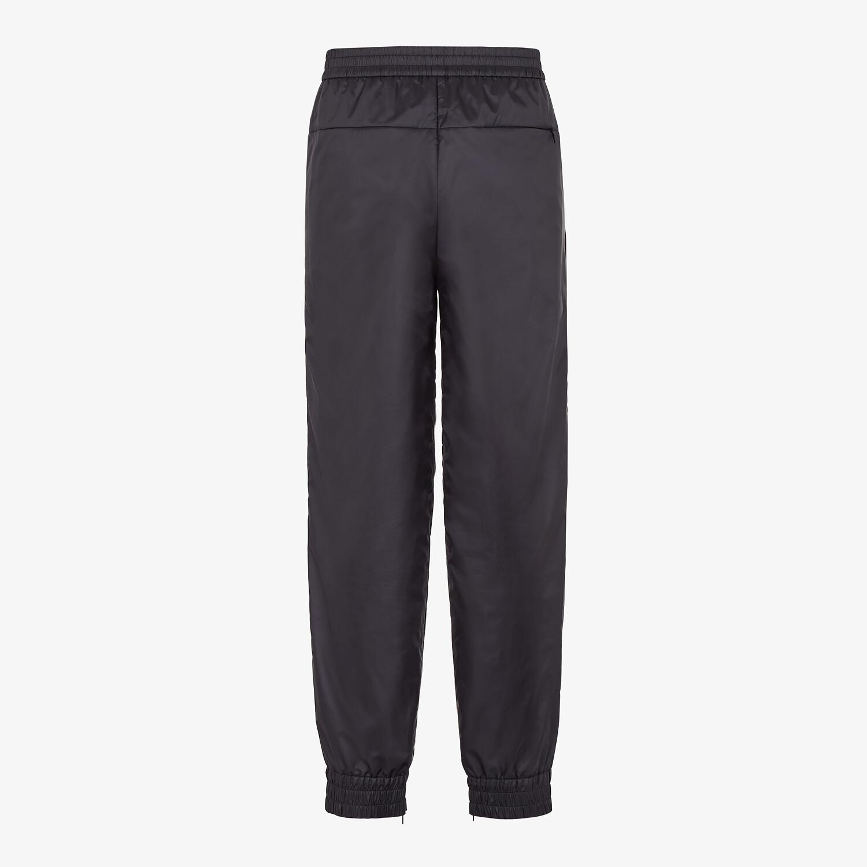 FENDI PANTS - Black nylon pants - view 2 detail