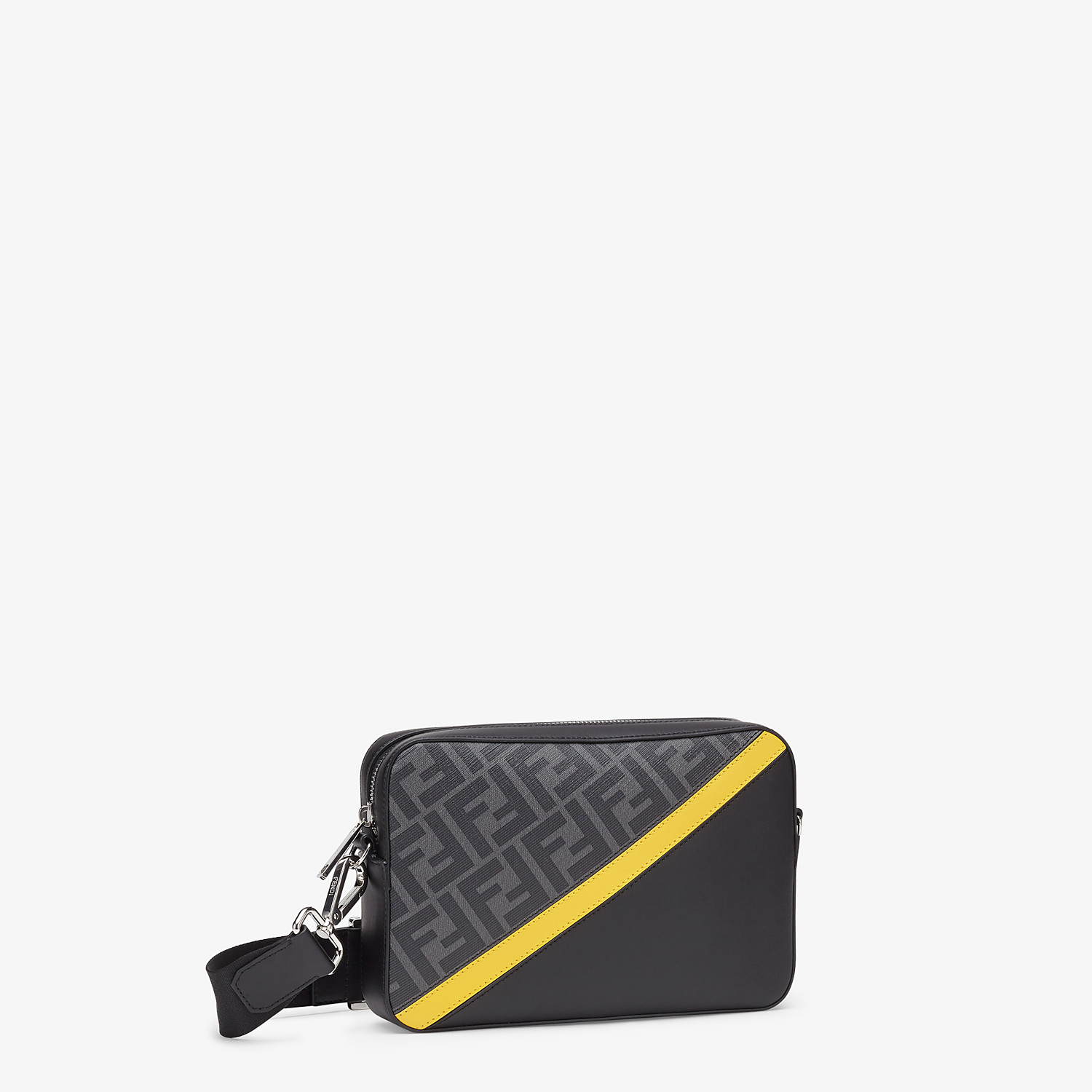 FENDI CAMERA CASE - Gray fabric bag - view 2 detail