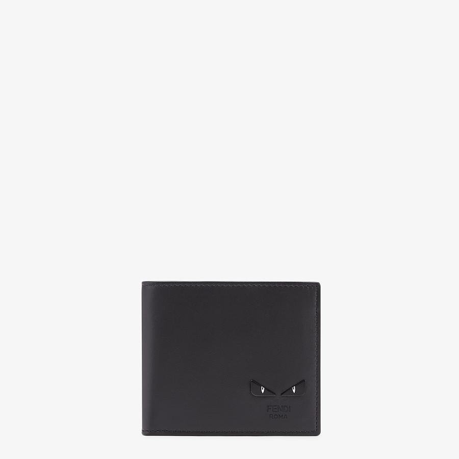 FENDI WALLET - Black leather bi-fold - view 1 detail