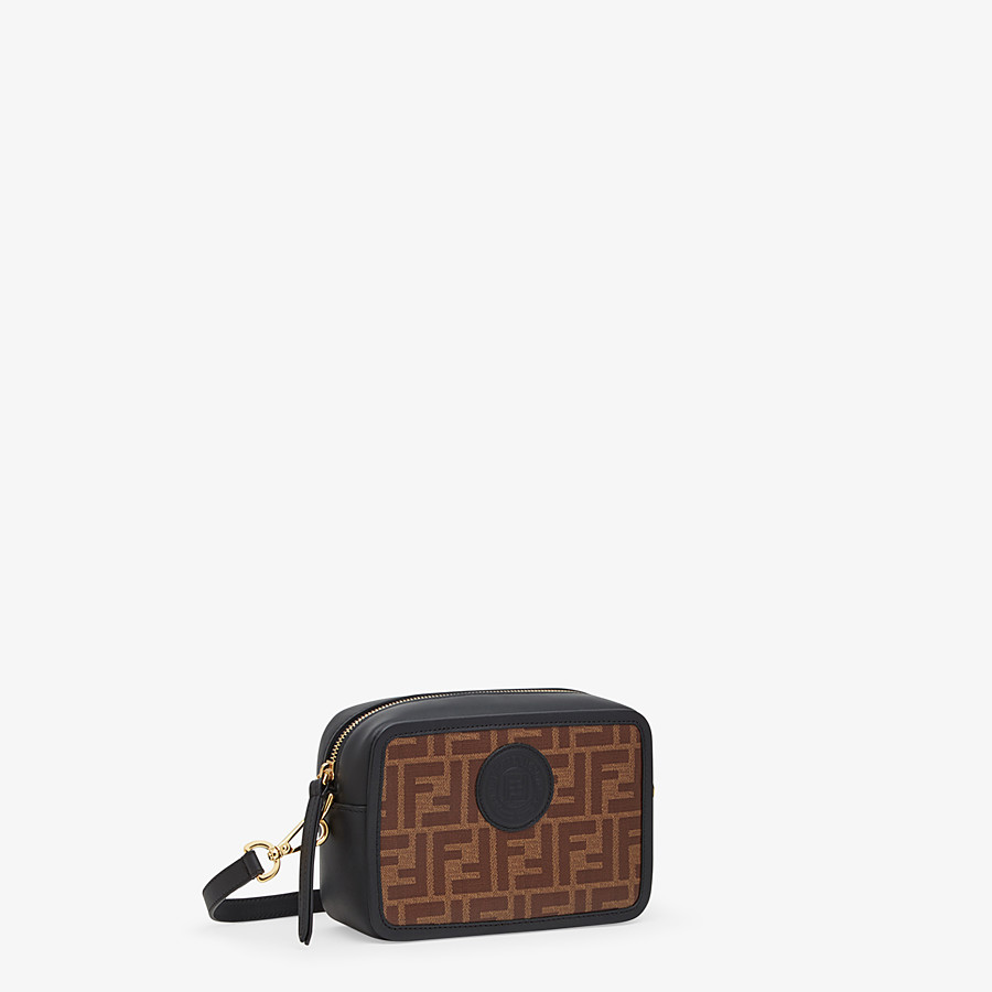 FENDI MINI CAMERA CASE - Multicolor canvas bag - view 2 detail