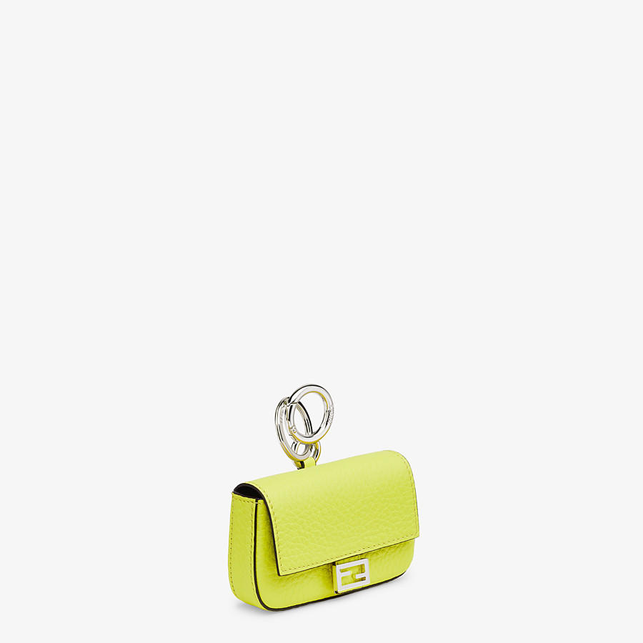 FENDI NANO BAGUETTE CHARM - Fendi Roma Amor leather charm - view 2 detail