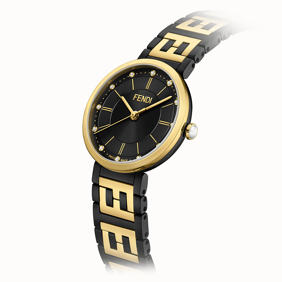 FENDI FOREVER FENDI - 29 MM - Watch with FF logo bracelet - view 3 detail