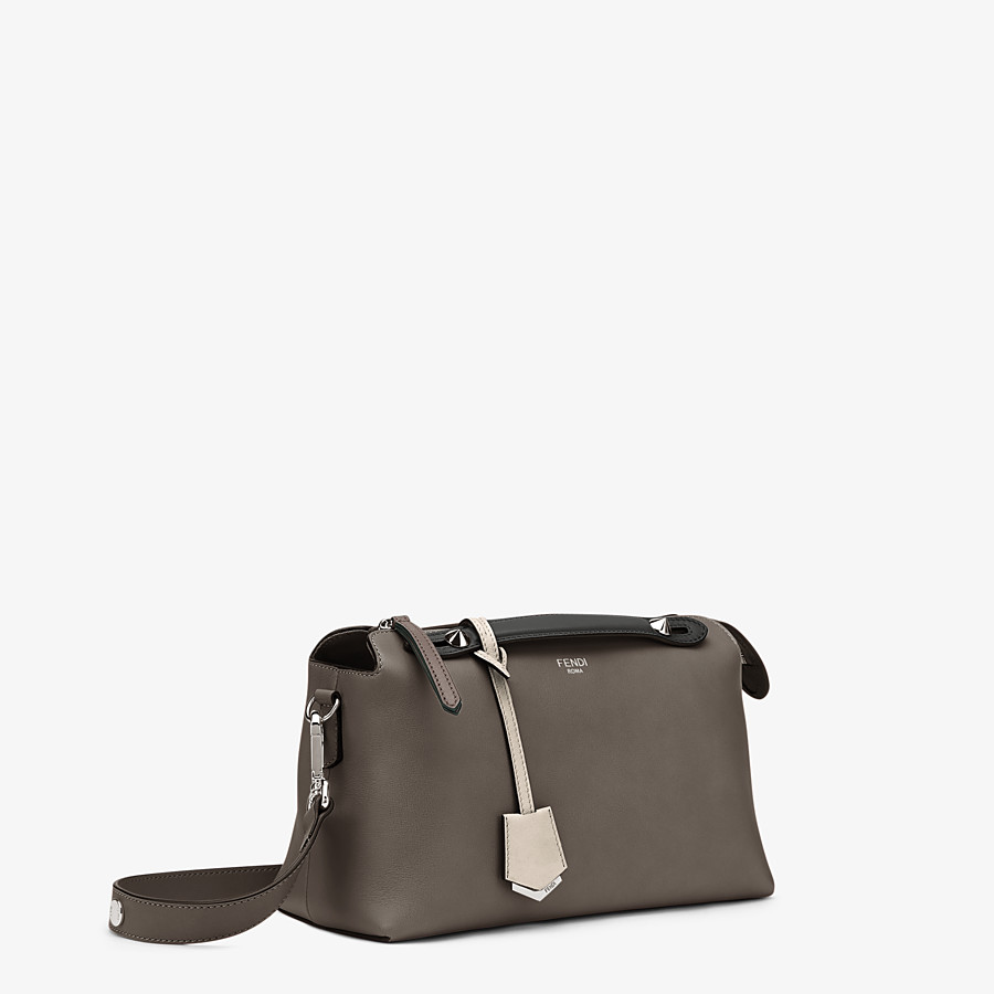 FENDI BY THE WAY MEDIUM - Small multicoloured leather Boston bag - view 2 detail