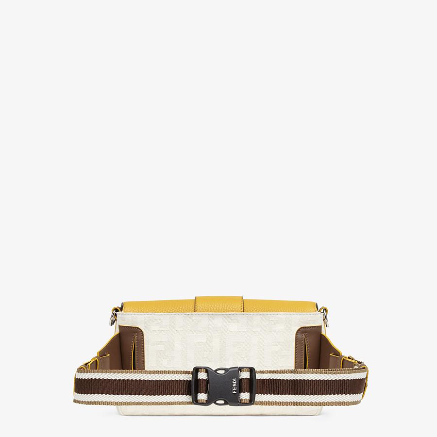 FENDI BAGUETTE - White canvas bag - view 3 detail