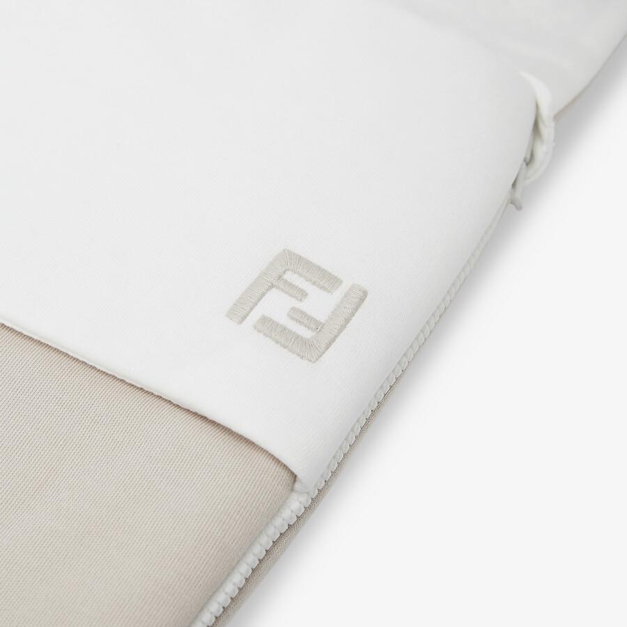 FENDI BABY SLEEPING BAG - Jersey baby sleeping bag - view 3 detail