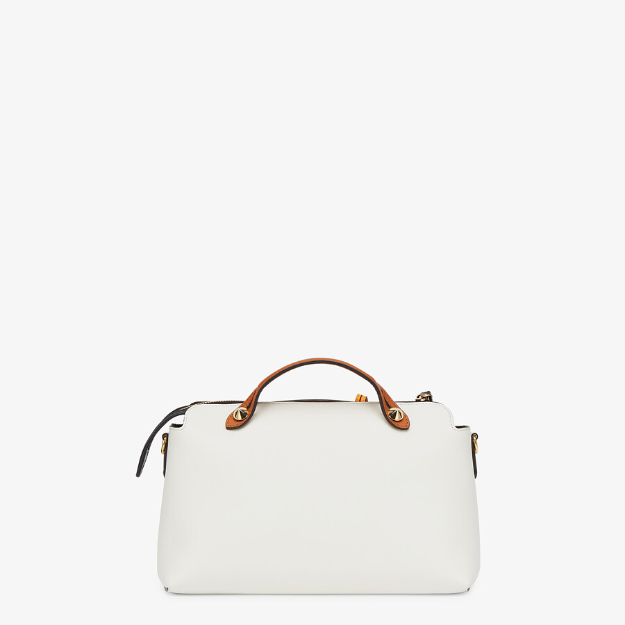 FENDI BY THE WAY MEDIUM - Multicolor leather Boston bag - view 4 detail