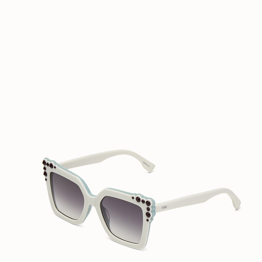 FENDI CAN EYE - Ivory sunglasses - view 2 detail