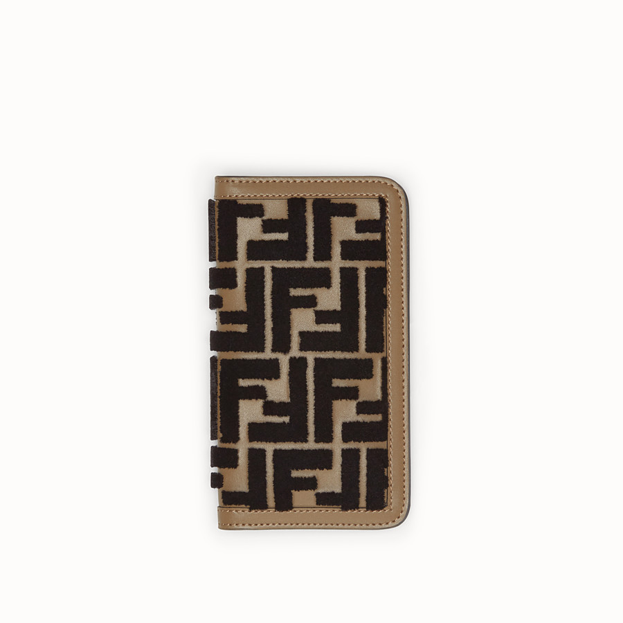 FENDI iPHONE X CASE - Multicolour flip-cover case - view 1 detail