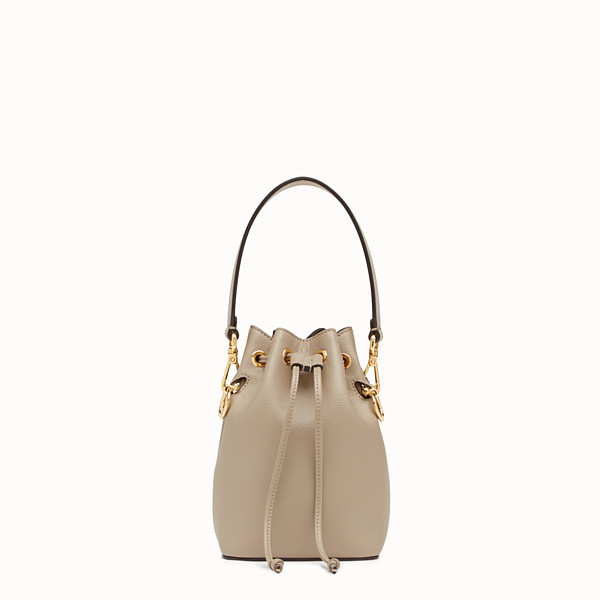 FENDI MON TRESOR - Beige leather mini-bag - view 1 small thumbnail