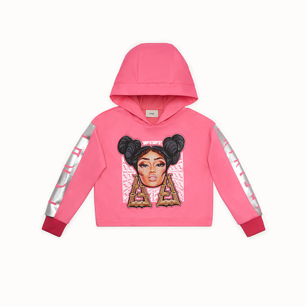 FENDI SWEATSHIRT - Fendi Prints On sweatshirt - view 1 small thumbnail