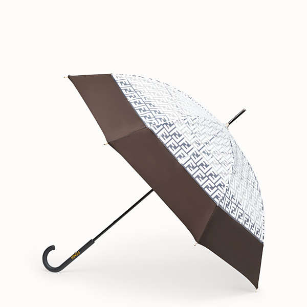 FENDI UMBRELLA - Transparent tech fabric umbrella - view 1 small thumbnail