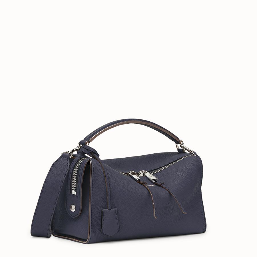 FENDI LEI BAG SELLERIA - Blue-coloured Roman leather Boston bag - view 2 detail