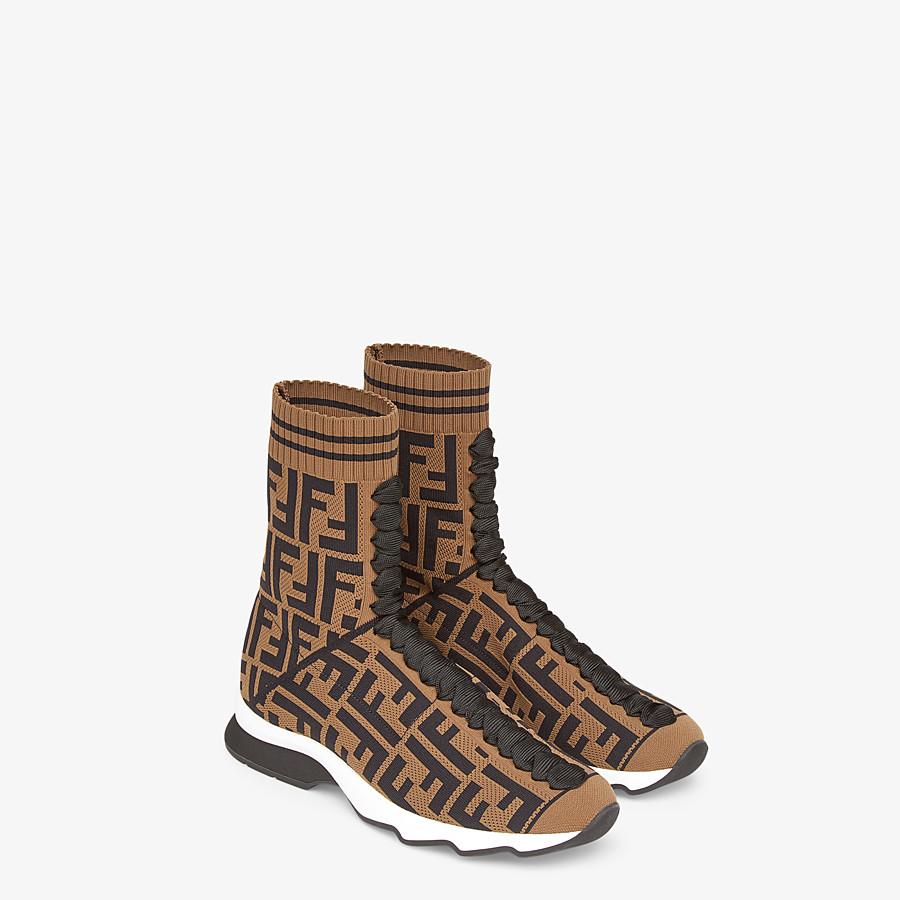 FENDI SNEAKERS - Sneakers en tissu multicolore - view 4 detail