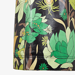 FENDI SKIRT - Multicolour cotton skirt - view 3 thumbnail
