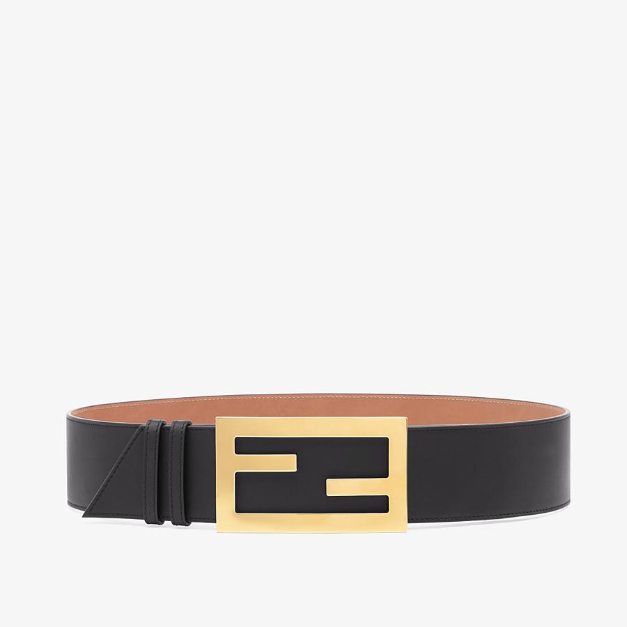 Black Leather Belt Belt Fendi Effortlessly combining classic craftsmanship, italian heritage and a contemporary edge. fendi