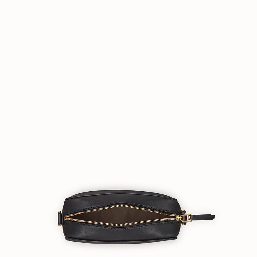 FENDI CAMERA CASE - Black leather bag - view 4 detail