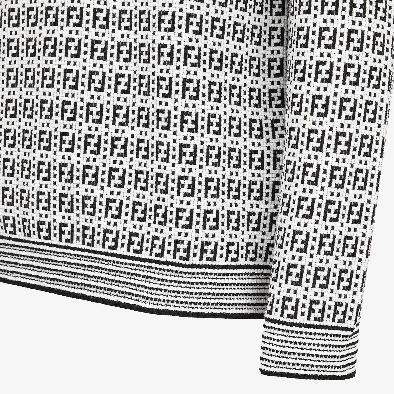FENDI SWEATER - Multicolor viscose sweater - view 3 detail