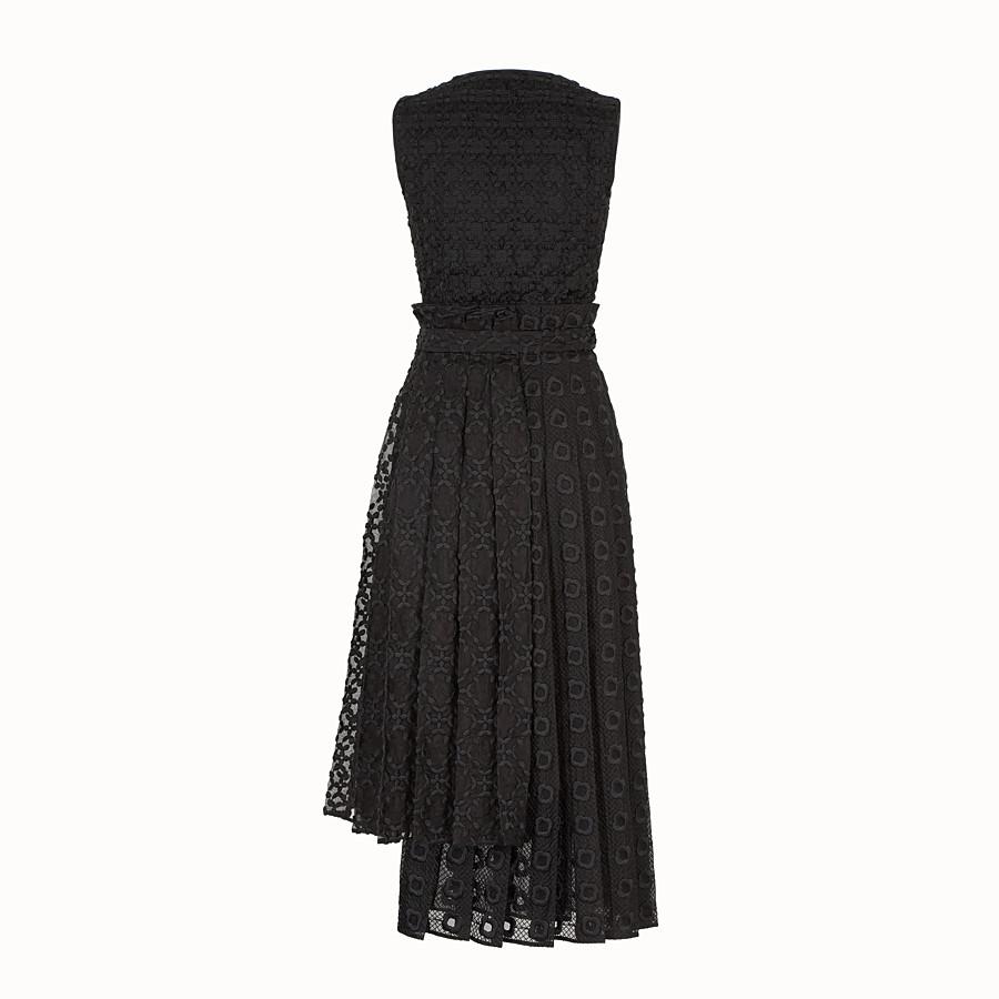 FENDI DRESS - Black organza dress - view 2 detail