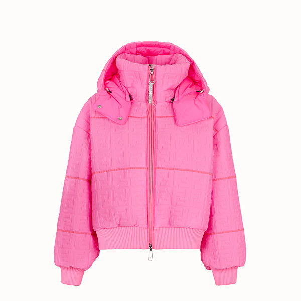 FENDI DOWN JACKET - Fendi Prints On Lycra® down jacket - view 1 small thumbnail