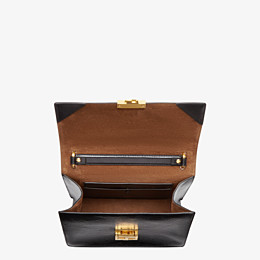 FENDI KAN U - Black leather bag - view 4 thumbnail