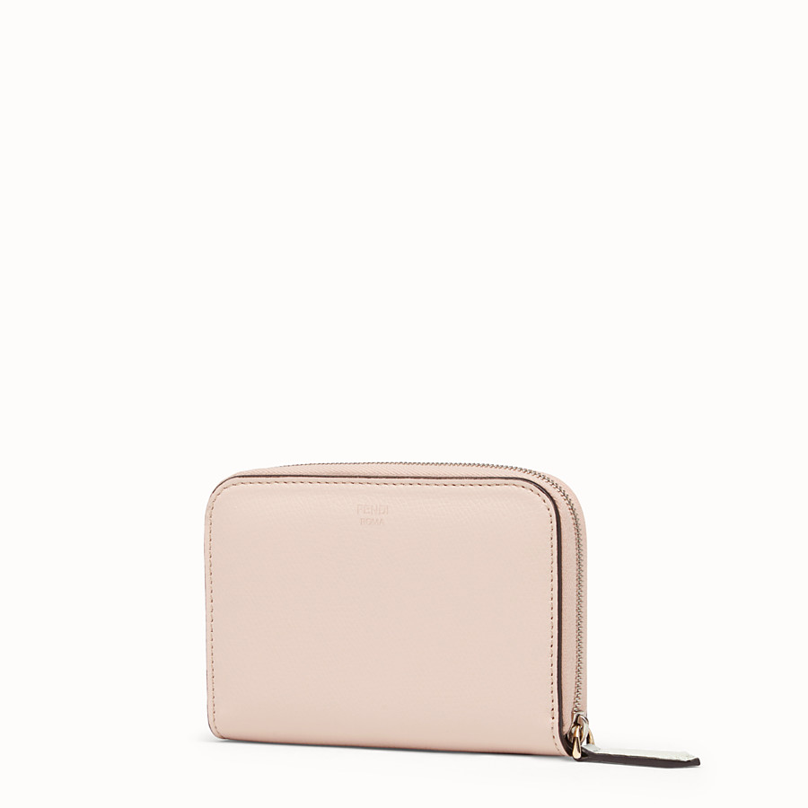 FENDI SMALL ZIP-AROUND - Multicolour leather wallet - view 2 detail