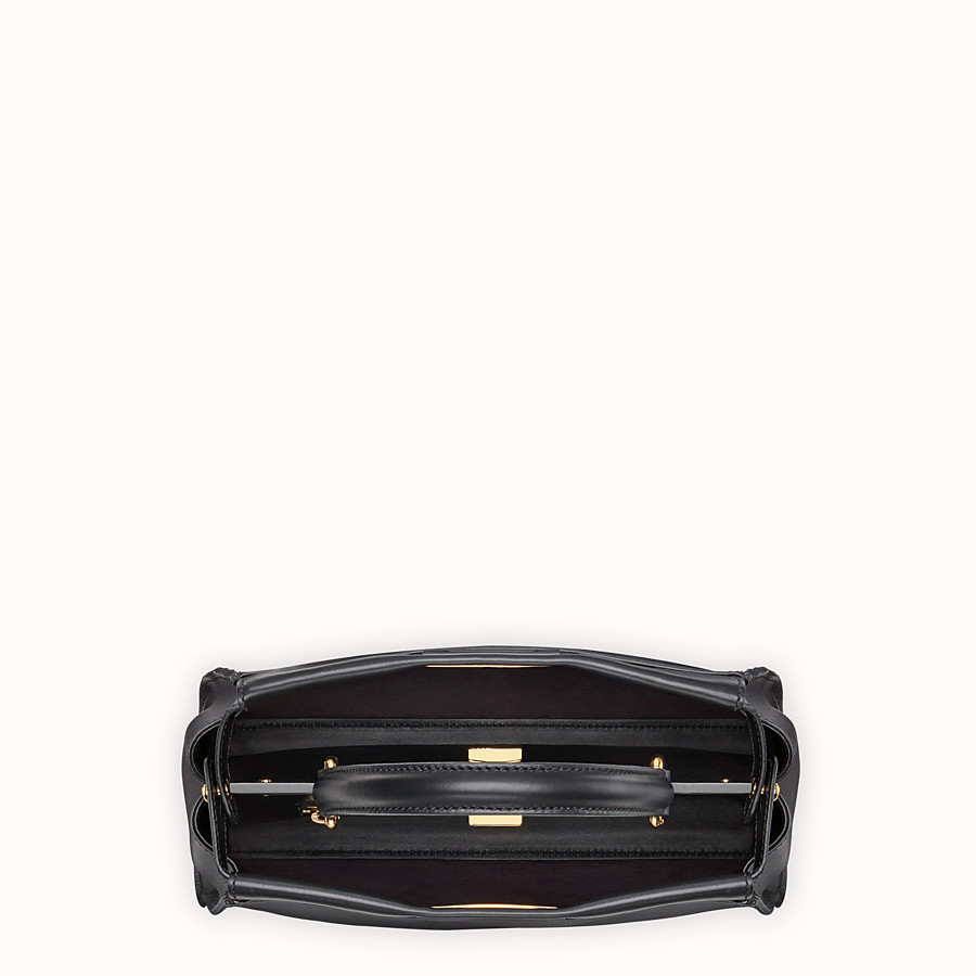 FENDI PEEKABOO REGULAR - Tasche aus Leder in Schwarz - view 4 detail