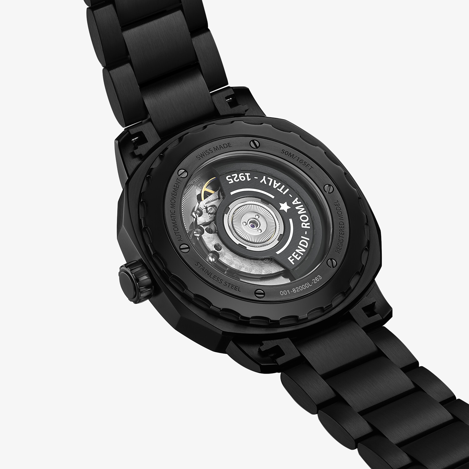 FENDI SELLERIA - 42mm (1.7inch) – Automatic watch with interchangeable bracelet - view 4 detail