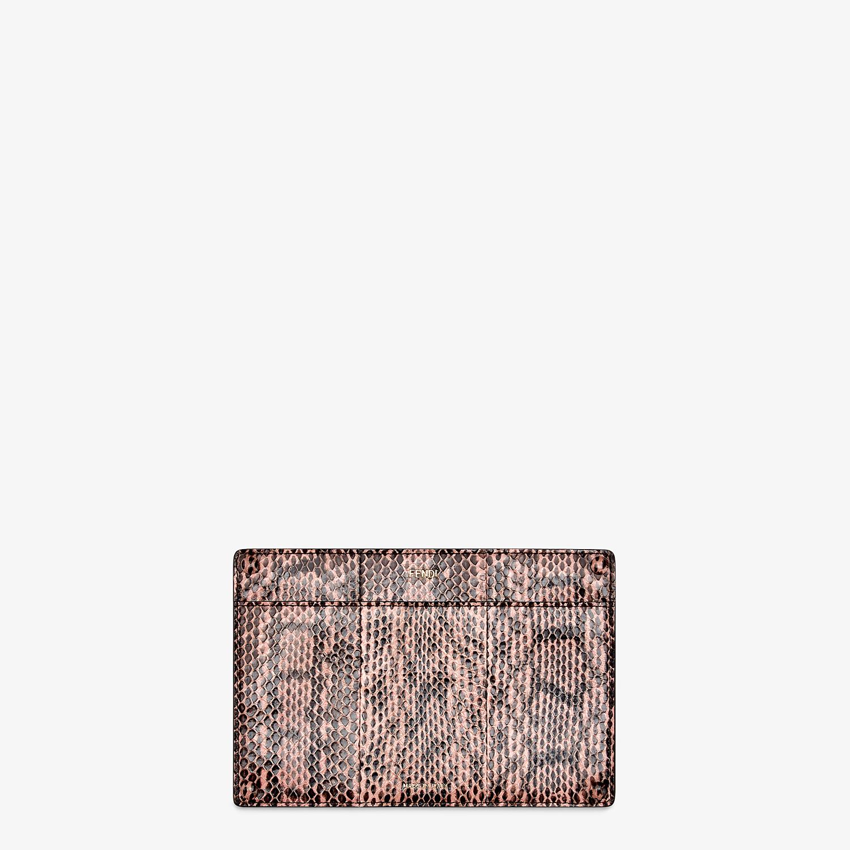 FENDI PEEKABOO ISEEU POCKET - Accessory pocket in pink elaphe - view 1 detail