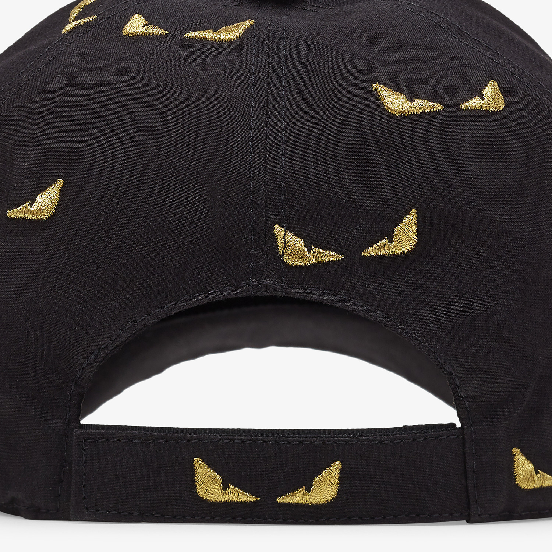 FENDI HAT - Baseball cap in black cotton - view 2 detail