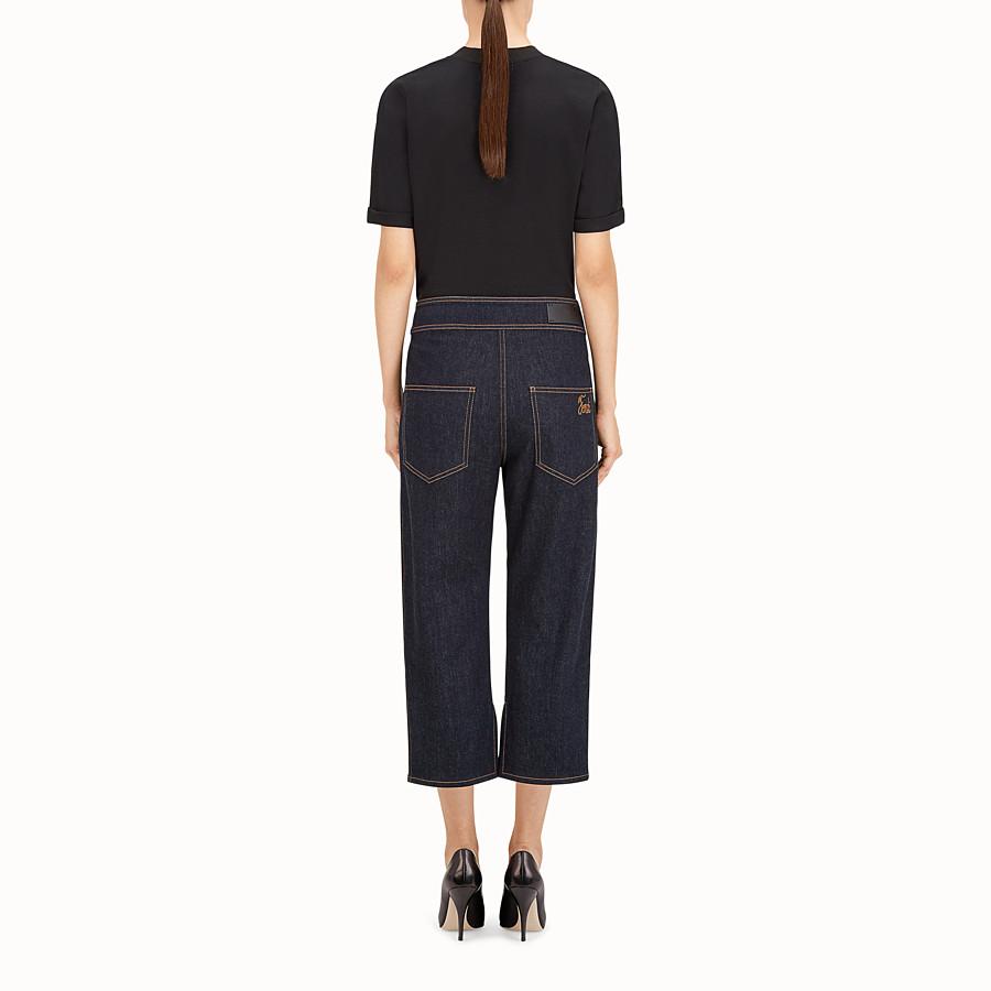 FENDI 長褲 - 藍色牛仔褲 - view 3 detail