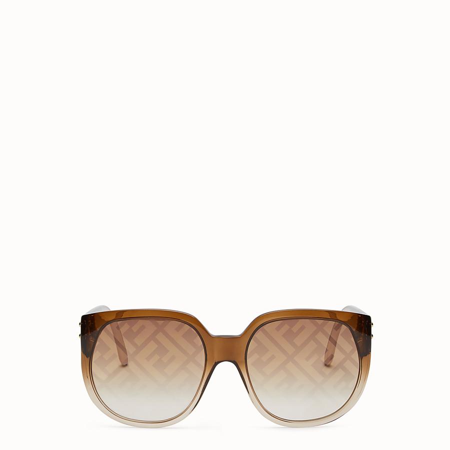 FENDI FENDI DAWN - Brown sunglasses - view 1 detail