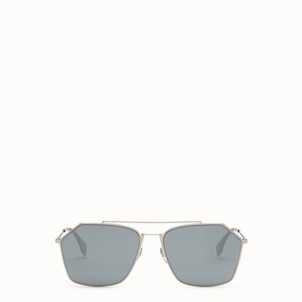 FENDI EYELINE - Ruthenium Asian fit sunglasses - view 1 small thumbnail