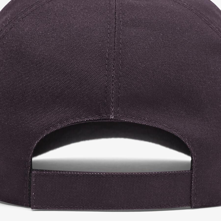 FENDI HAT - Multicolour canvas baseball cap - view 2 detail