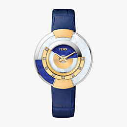 FENDI POLICROMIA - 38 mm - Watch with diamonds and genuine stones - view 1 thumbnail